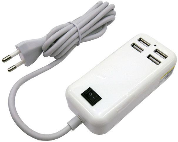 Блок питания Liitokala Lii-U4 на четыре выхода USB (3A, 5V, 15W).