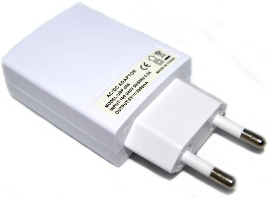Мощный USB блок питания UBP-008 для зарядных устройств.