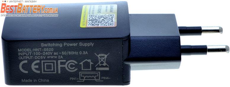USB блок питания Liitokala HNT-S520 5V 2A.