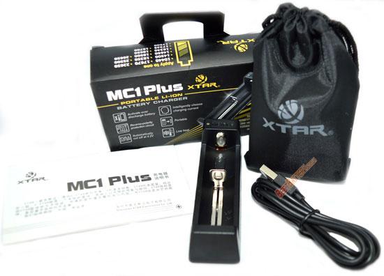 XTar MC1 Plus - универсальное быстрое зарядное устройство для Li-Ion аккумуляторов с питанием от USB.