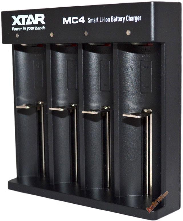 Особенности зарядного устройства XTar MC4