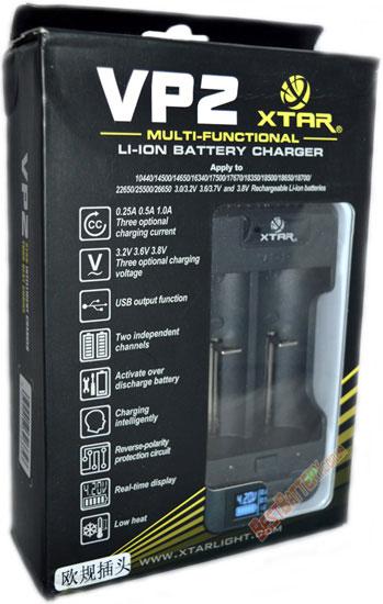Особенности зарядного устройства XTar VP2