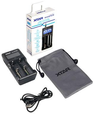 Комплект поставки XTar VC2 Plus Master