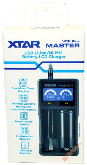 XTar VC2 Plus Master в упаковке