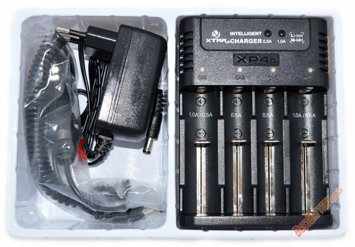 Зарядное устройство Xtar XP4c;