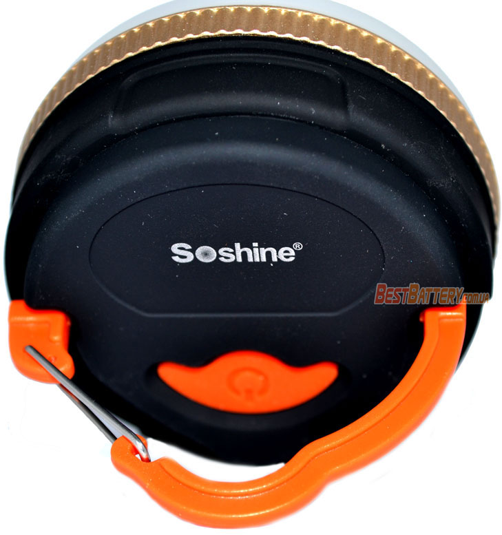 Светодиодный фонарь Soshine CB1 клипса для крепления.