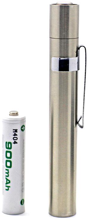 Фонарь Soshine ST1 - источник питания батарейка или аккумулятор ААА.