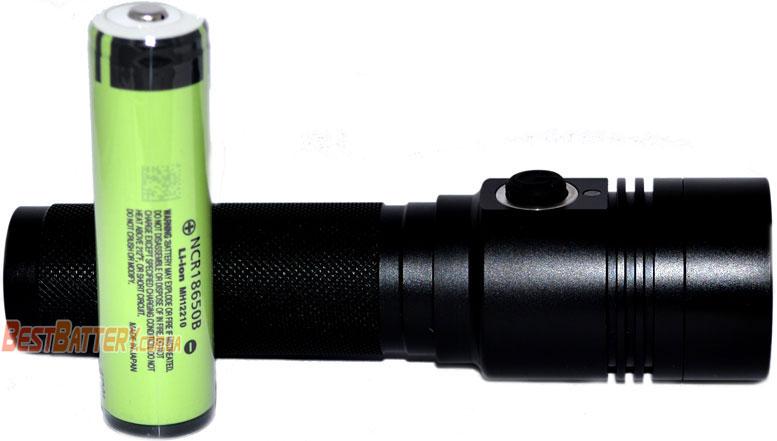 Источник питания в фонаре Soshine TC14 USB li-ion аккумулятор 18650.