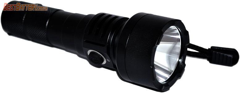 Прочный металлический корпус в фонаре Soshine TC15 USB.