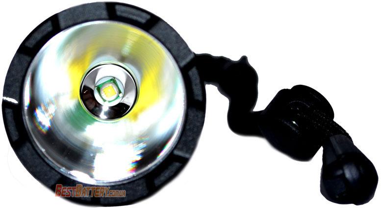 Светодиод XMK T6 White в фонаре Soshine TC15 USB.