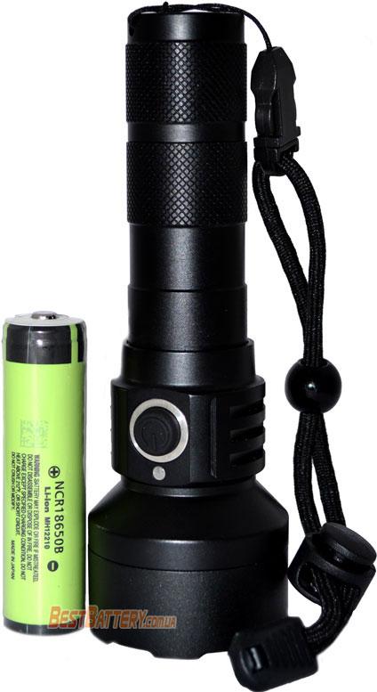 Li-Ion аккумулятор 18650 для фонаря Soshine TC15 USB.