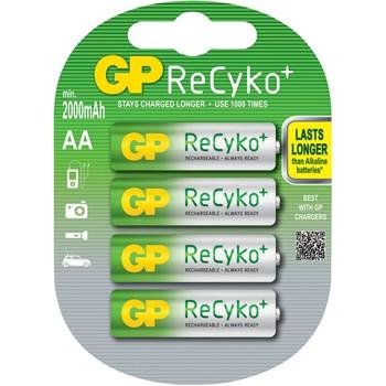 Пальчиковые аккумуляторы GP ReCyko+ 2050 mAh