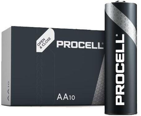 Duracell Procell Alkaline AA профессиональные пальчиковые батарейки от Duracell.