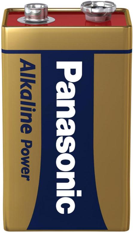 Panasonic Alkaline Power Крона 6F22 9V - серия экономных щелочных батареек типа Крона.