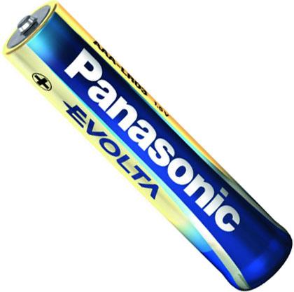 Щелочные батарейки Panasonic Evolta AAA.