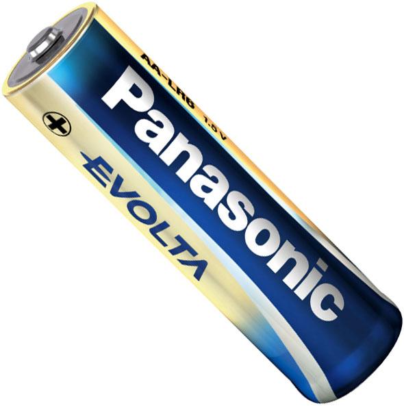Щелочные батарейки Panasonic Evolta AA.