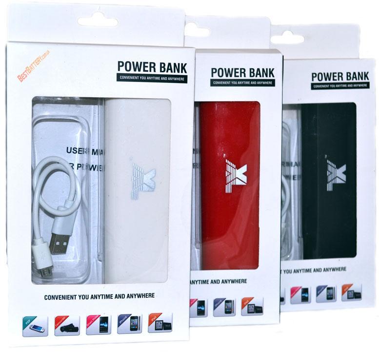 Разные цвета павер банк HQ Tech 10400 mAh